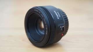 Canon 50mm F1.8 STM Lens like new foc uv filter