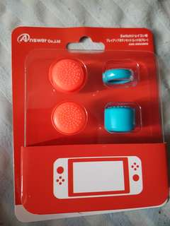 Analog Cap Covers for Nintendo Switch Joy-Cons