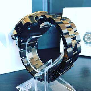 NEGOTIABLE ~Brand New Nixon Ranger GMT Watch- Gunmetal/Lum A941-1418-00