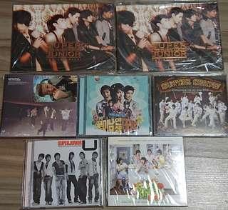 Super junior韓版Album & Single