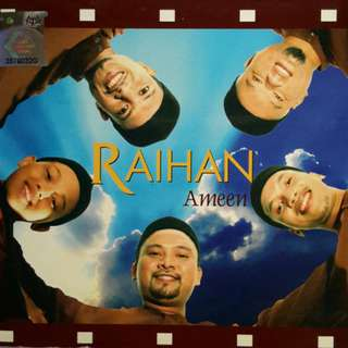 RAIHAN Ameen CD New Digipak Lagu Nasyid Limited Stock