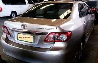 Toyota Altis 1.6V 2011 Top of the line