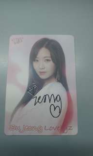 Yes card - Su Jeong@Lovely