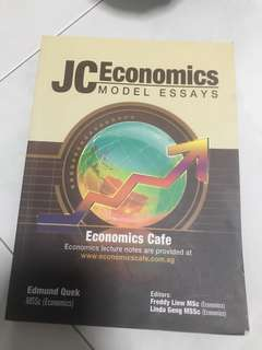 JC Economics Model Essays for A Levels
