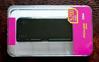 Portable Power Pack, 5200mAh
