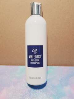 the body shop®  white musk body lotion 250ml