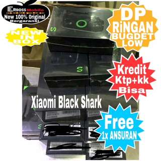 Xiaomi Black Shark+Joystick  [64GB6GB] New Original Cash/Kredit Dp 3jt Call/wa;081905288895