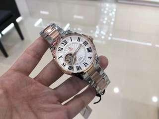 新系列!🎉🇬🇧英倫風-POLO CLUB.卡地亞款!高檔男士機械錶 41mm錶面 間金款 專櫃$3298正品 全國聯保2年.