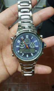 JAPAN MOVEMENT WATCH 99%NEW BUT NO BOX, FOR $130.00 HKD.