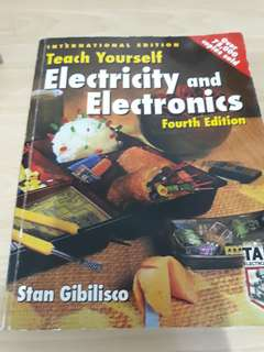 Teach Yourself Electricty and Electronics 4E by Stan Gibilisco