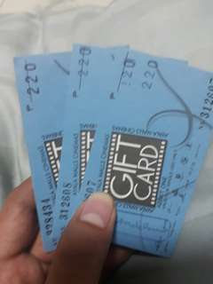 Ayala movie ticket
