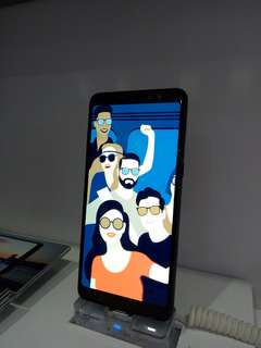Kredit Samsung A8+ cashback 1,2jt cicilan tanpa kartu kredit