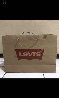 Levis Paper bag