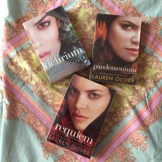 Delirium Trilogy by Lauren Oliver