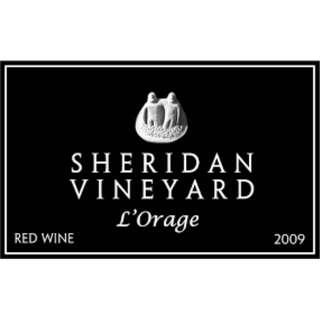 美國紅酒 2009 Sheridan L'Orage Red Wine