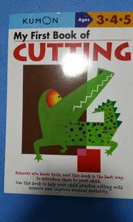 Kumon - My First Book of cutting