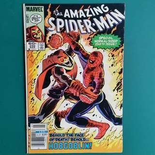 Amazing Spider-Man No.250 comic