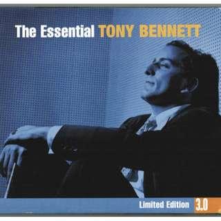 Triple CD Tony Bennett – The Essential Tony Bennett Digipak