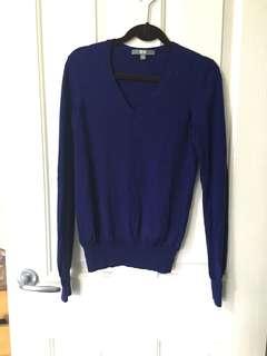 UNIQLO Royal blue knit