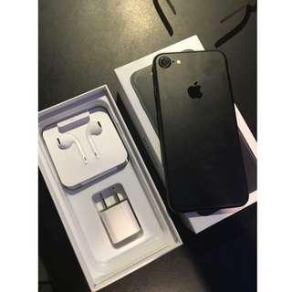 iPhone 7 Matte Black 128G Factory Unlocked RUSH!! (negotiable)