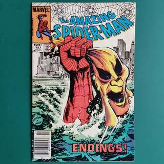 Amazing Spider-Man No.251 comic