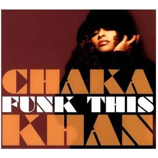 CD Chaka Khan – Funk This Digipak