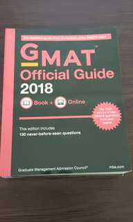 🚚 GMAT Official Guide 2018