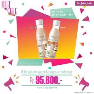 Promo khusus juli shampo dan Conditioner