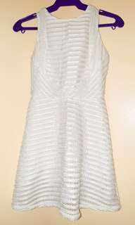 Used-once Just G white dress