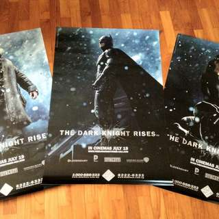 ⚠️Clearance⚠️ The Dark Knight Rises Posters