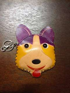 Leather Doggie Purse