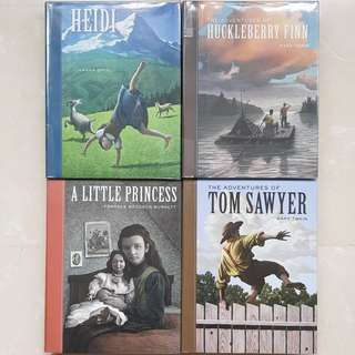 Collection of classic hardcover story books