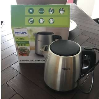 Philips silver kettle