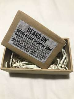 🚚 All Natural Beard & Face Charcoal Soap