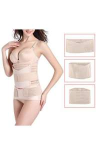 3 in 1 Postpartum Support Recovery Belly Wrap Girdle, Band Belt Body Shaper, Postnatal Shapewear