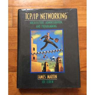 TCP/IP Networking by James Martin