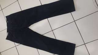 Long pants elhaus cotton duck navy