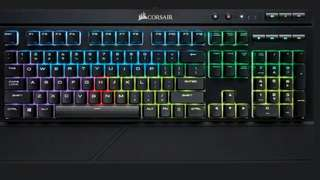 Corsair k68 RGB Mechanical Gaming keyboard (blue switch)