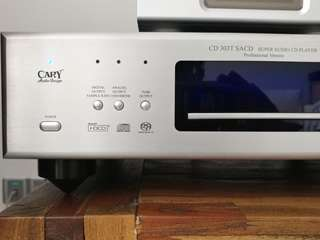 Cary sacd cd player 303t professional version