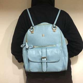 🚚 天藍色後背包 可變肩背 含運價
