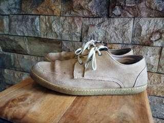 Sepatu fredperry kulit size 42