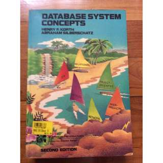 Database System Conceptsby Henry R Korth