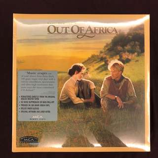 """NEW VINYL: John Barry """"Out of Africa - OST"""" (US)"""