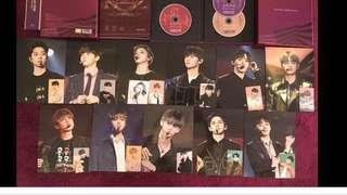 Wanna one premier fan con 小卡+ mini poster