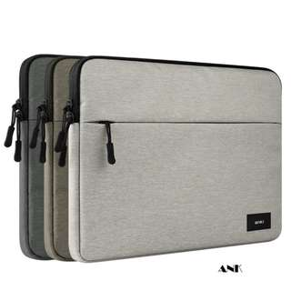 ANK Canvas Laptop Folio Bag. For Apple macbook 11, 12, 13, 14, 15, 15.6 inch and slimmer laptops.