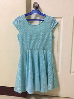 Little Mint/ Teal Dress