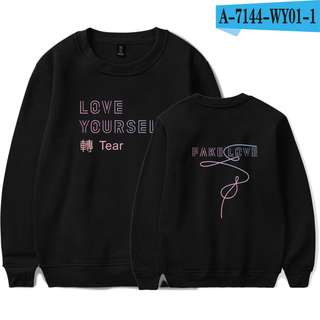 BTS LOVE YOURSELF TEAR SWEATSHIRT