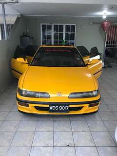 Honda interga b16a sport car
