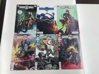 Gotham City Garage (2017 DC) Comics Set