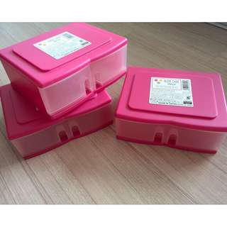 Three DAISO Single-Slide Cases